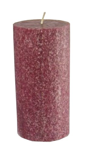 Root Scented Timberline Pillar Candle, 3-Inch by 6-Inch Tall, Cranberry Review