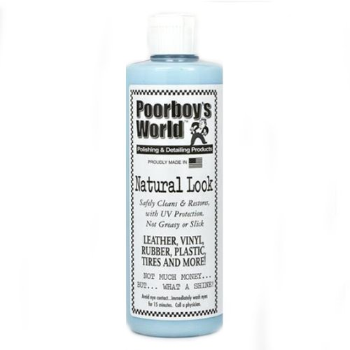 Poorboys Natural Look Car Dashboard / Trim Restorer Kit *USE ON MULTIPLE SURFACES**