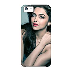 New Fashionable EmptySpiral Cover Case Specially Made For Iphone 5c(deepika Padukone 37)