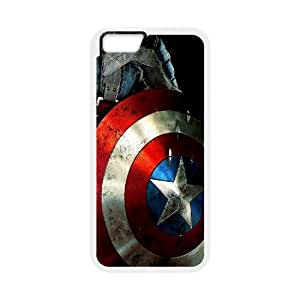 """Iphone6 4.7"""" 2D Customized Phone Back Case with Captain America Image"""