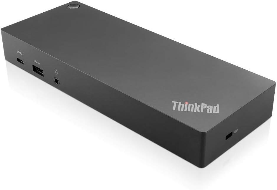 Lenovo ThinkPad Hybrid USB-C with USB-A Dock US (40AF0135US) (Renewed)