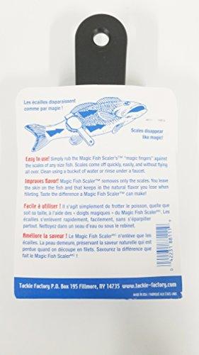 Black Big Norm/'s Magic Fish Scaler