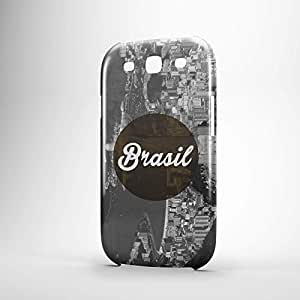 Brasil Samsung S3 3D wrap around Case - Cities