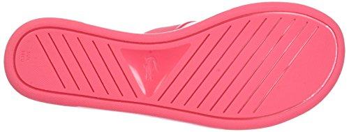 Lacoste Promenade Ace 117 1 Caw Pnk, Chancletas para Mujer Multicolor (Pnk/pnk)