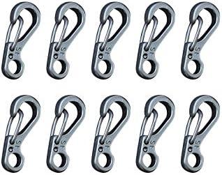Forfar 10 piezas Gancho para clip Mini Snap Herramienta de ...