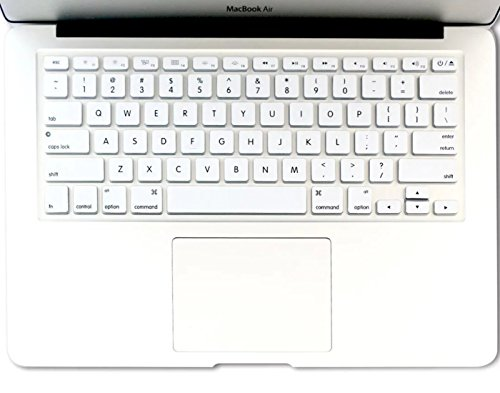 Rinastore Keyboard Cover Silicone Skin for MacBook Pro 13