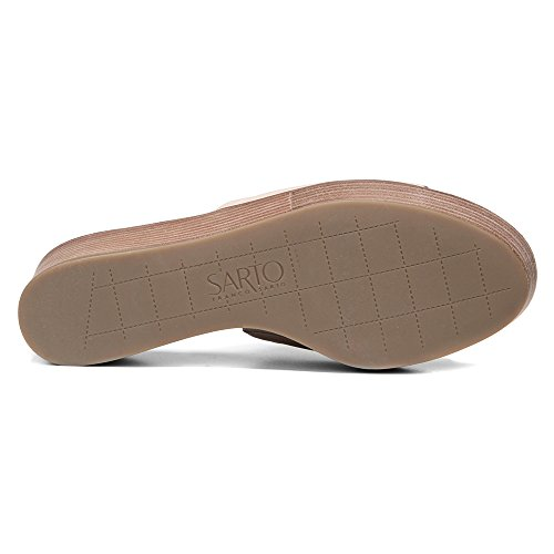 Franco Sarto Womens Ileen Slide Sandal Cappuccino Leather GcW1mCA2D