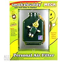 Smoke Buddy Mega Green Whole Box of 12 Personal Air Filter / Purifier Brand New with Free Im Baked Bro & Doob Tubes Sticker