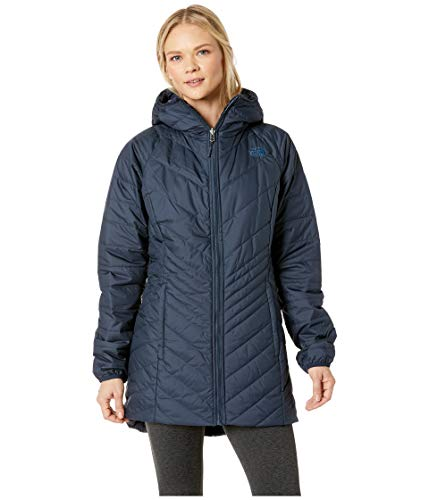 The North Face Women's Mossbud Insulated Reversible Parka - Urban Navy - S