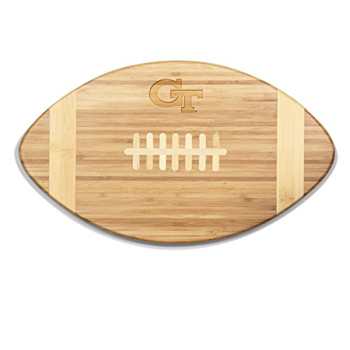 NCAA Georgia Tech Yellow Jackets Touchdown! Bamboo Cutting Board, 16-Inch