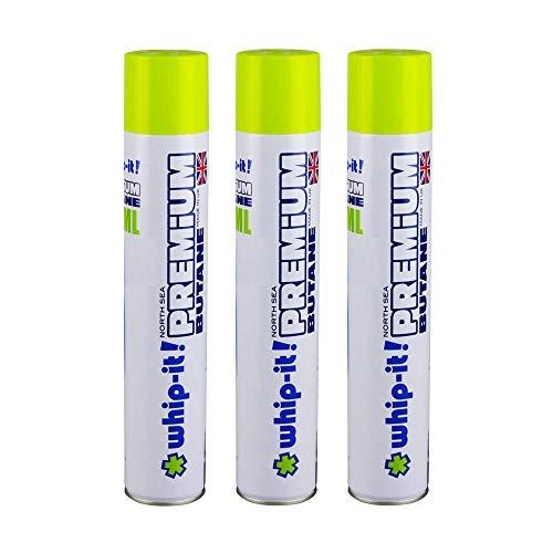 Whip-it! Refined Butane Fuel (Premium Refined Butane, 3 Pack)