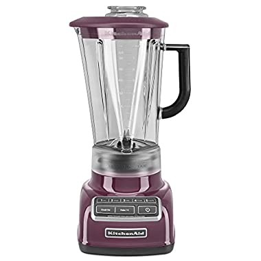 KitchenAid KSB1575BY 5-Speed Diamond Blender with 60-Ounce BPA-Free Pitcher - Boysenberry