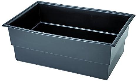 Vasche Preformate Per Laghetto.Oase 50760 Laghetto Preformato Pe 1150 X 750 X 450 Mm Nero 115x75x45 Cm