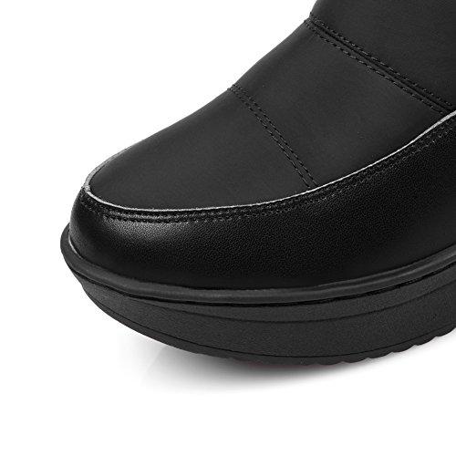 HONGANG Frauen Schnee Stiefel Snow-Proof Down Schnee Stiefel Casual Stiefel Student Cotton Boots Blau