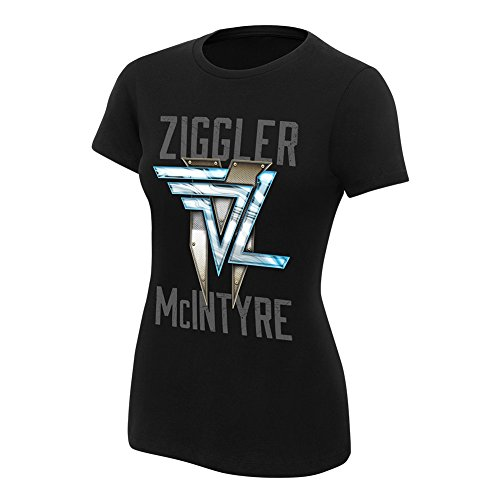 WWE Dolph Ziggler & Drew McIntyre This is The Show Women's T-Shirt Black Small
