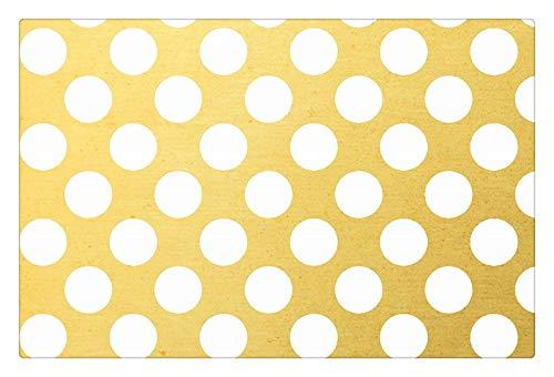 - ALDECOR Gold Point Machine-Washable Door Mat Indoor/Outdoor Doormat Funny Flannel Carpet