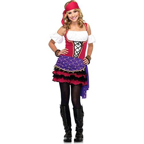 Crystal Ball Gypsy Costume - Teen -