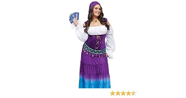 fa0712ea227 Amazon.com  Fun World Women s Gypsy Moon Plsz Diamond