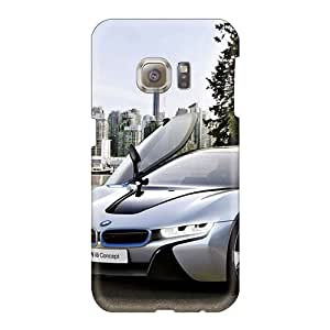 Durable Hard Cell-phone Case For Samsung Galaxy S6 (WHC4043GFdU) Allow Personal Design HD Bmw I8 Image