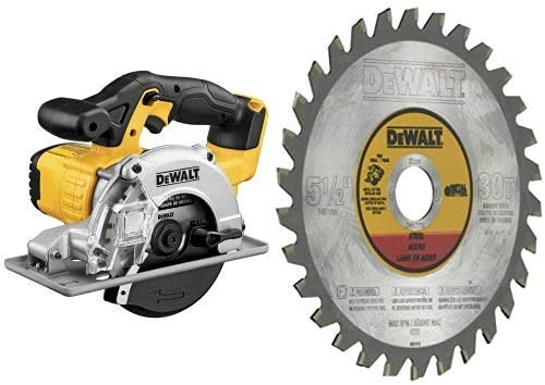 DEWALT 20V MAX 5-1 2-Inch Circular Saw, Metal Cutting, Tool Only DCS373B