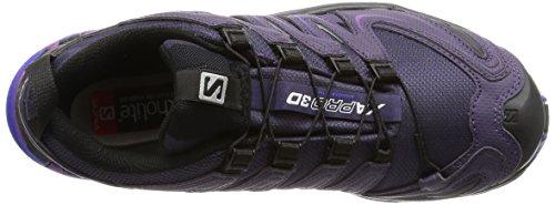 3D Pro Nightshade Damen Salomon Grey GTX W Violett Xa Traillaufschuhe Bkl q4PwR