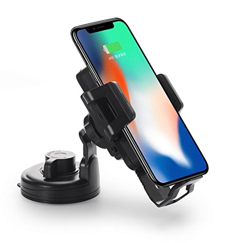 Price comparison product image Sinfu 1PC Qi Brand New Wireless Charger Car Charger Mount Charging For Iphone 8/8 Plus/X