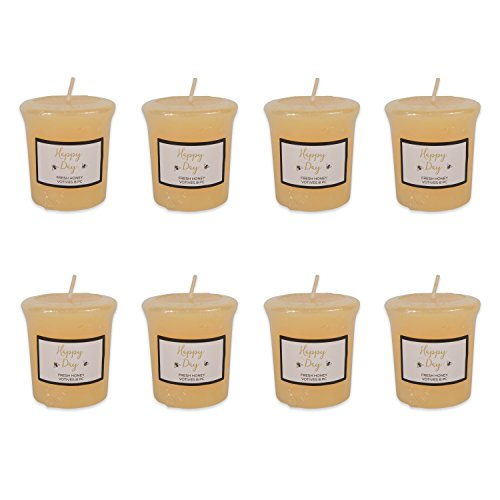 DII Single Wick Evenly Burning Highly Scented Votive Candle, 1.8 oz by DII