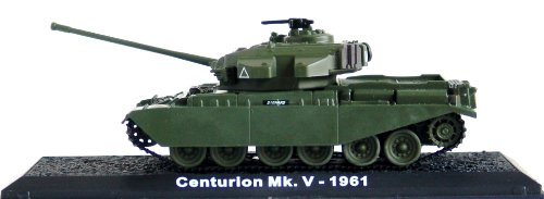 Centurion Model (Centurion Mk. V - 1961 diecast 1:72 model (Amercom CS-44) by Unknown)