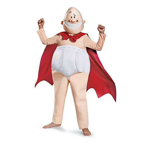 Captain Underpants Movie Deluxe Costume, Large (10-12)