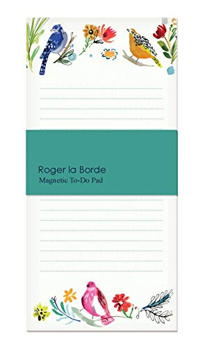 Bird Life Magnetic To-Do List by Roger La Borde