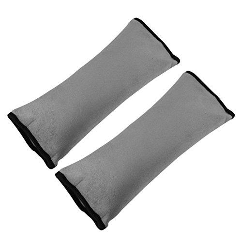 Seatbelt Pillow,2 Pack Car Seat Belt Covers for Kids,Adjust Vehicle Shoulder Pads,Safety Belt Protector Cushion,Plush Soft Auto Seat Belt Strap Cover Headrest Neck Support for Children Baby Adult