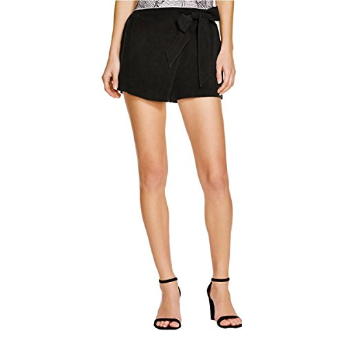 Ella Moss Womens Tencel Wrap Casual Shorts Black XS (Moss Ella Wrap)