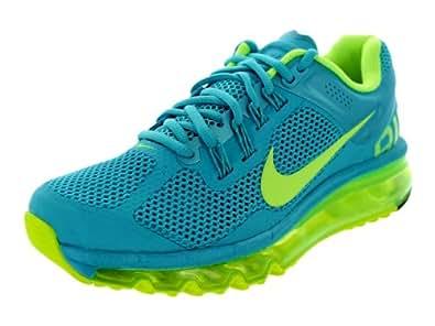 Nike Women's Air Max+ 2013 Gamma Blue/Volt 555363-470 (SIZE: 55)