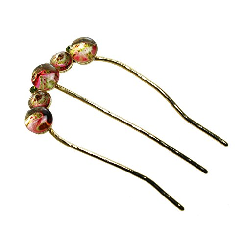 Tamarusan Hair Comb Kimono Hairstyle Hair Ornament Dumpling Hair Handmade by TAMARUSAN