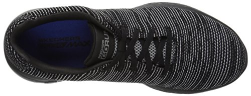 Skechers Mens Go Run 600-get Sneaker Nero / Grigio