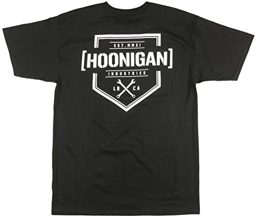 Hoonigan T-Shirt Bracket X Schwarz