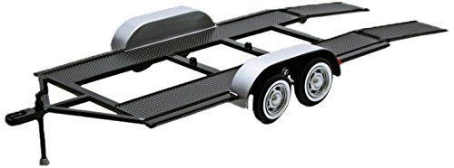 1:24 Scale Plastic Die cast metal Trailer by Motormax (English Manual)