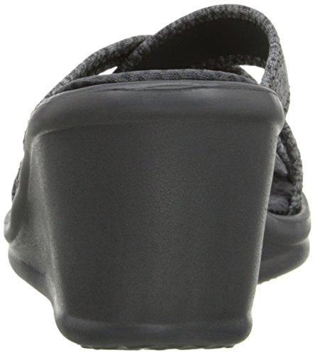 Skechers Rumblerspen Pal - Mules Mujer Gris
