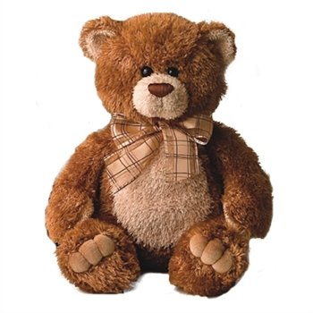 16 Inch Brown Teddy Bear (Brown Sugar the 16 Inch Plush Brown Teddy Bear By Aurora)