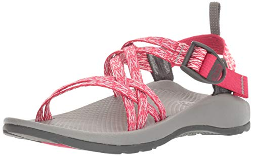 (Chaco Girls' ZX1 Ecotread Sandal, Rend Pink, 6 M US Big Kid)