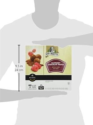 Van Houtte Raspberry Chocolate Truffle Keurig K-Cups, 18 Count, 6.35 OZ (180g)
