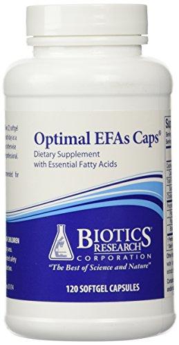 Biotics Research - Optimal EFAs Caps 120 Softgels