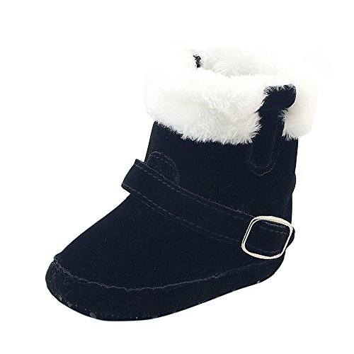 Toddler Anti-slip Boots,Dirance Newborn Baby Crib Winter Boots Kids Boy Girl Prewalker Martin Shoes (6-12 months, (Halloween Costumes 3-6 Months Uk)