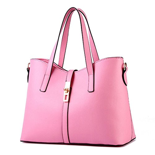 Desklets Womens PU Leather Sling Simple Style Tote Bags Top Handle - Duty Sydney Free