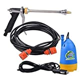 12V 80W Portable Car Garden High Pressure Washer Cleaning Washing Machine Pump