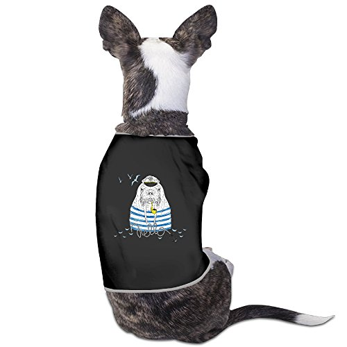 Captain Walrus Printed Design Dog Costume Dog Clothing Suitable For Lovely Small Dogs (Walrus Dog Costume)
