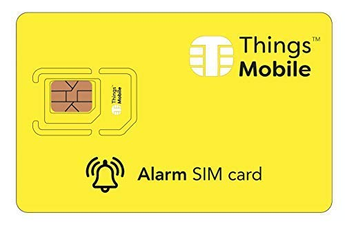 (SIM Card for Alarm System/Anti-Theft GSM / 2G / 3G / 4G with Credit Included of $ 10)