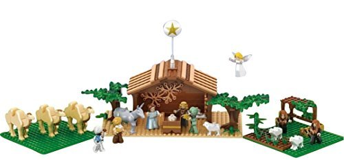 Nativity Bricks Ultimate Kids Nativity Set -