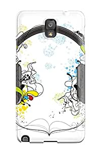 Chad Po. Copeland's Shop 2896449K55954620 New Arrival Cover Case With Nice Design For Galaxy Note 3- Headphones