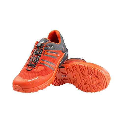 Mammut MTR 201-LL LOW trail Zapatillas Deportivas para Running Hombres GRAPHITE/DARK ORANGE